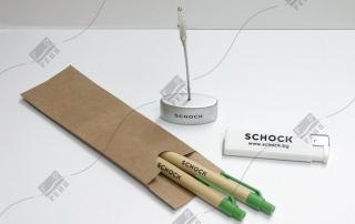 Schock - еко химикалки, запалки, щипка