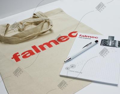 Falmec торбички, пад и химикалки